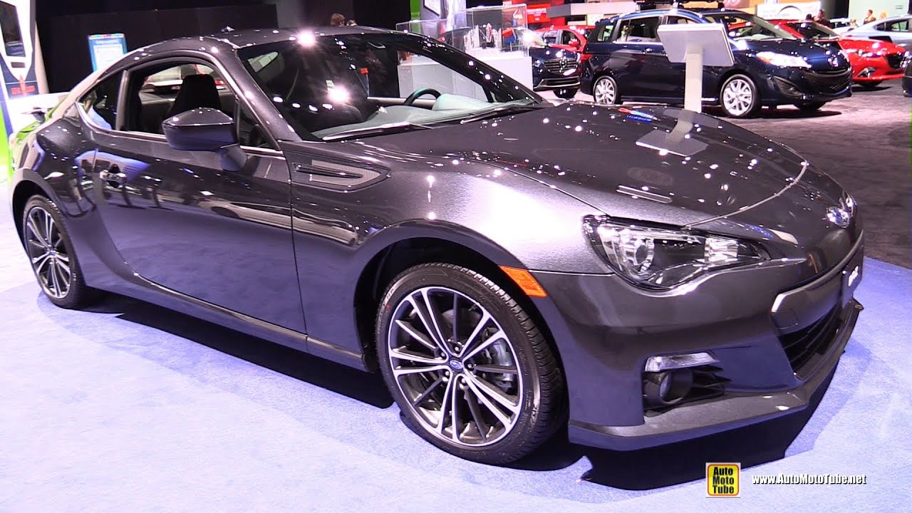 2015 subaru brz limited exterior and interior walkaround 2015 detroit auto show youtube. Black Bedroom Furniture Sets. Home Design Ideas