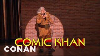 Comic Khan Heralds The Coming Of #ConanCon  - CONAN on TBS