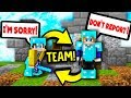 TEAM OF 2 IN SOLO MINECRAFT SKYWARS mp3