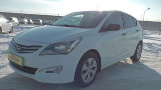 2015 Hyundai Solaris 1.4 At. Start Up, Engine, And In Depth Tour.