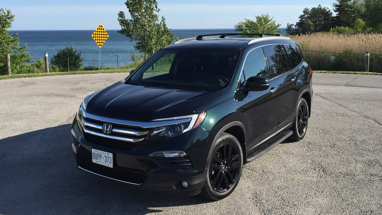 2016 honda pilot touring review youtube. Black Bedroom Furniture Sets. Home Design Ideas