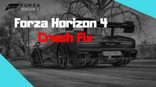 Forza horizon 4 crash fix pc