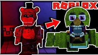 Fredbears Custom Night Huge Update! New Badges and Morphs! - FNAF Roblox