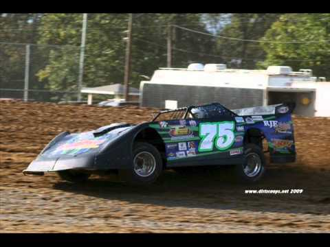dirt track racing video with song