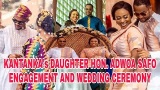 EXCLUS VE ADWOA SAFO AND HANNY MOUHT SEB WEDD NG AND ENGAGEMENT V DEO AND PHOTOS