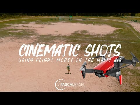 MAVIC AIR - HOW TO GET CINEMATIC SHOTS | Using Flight Modes and Active Track Tutorial