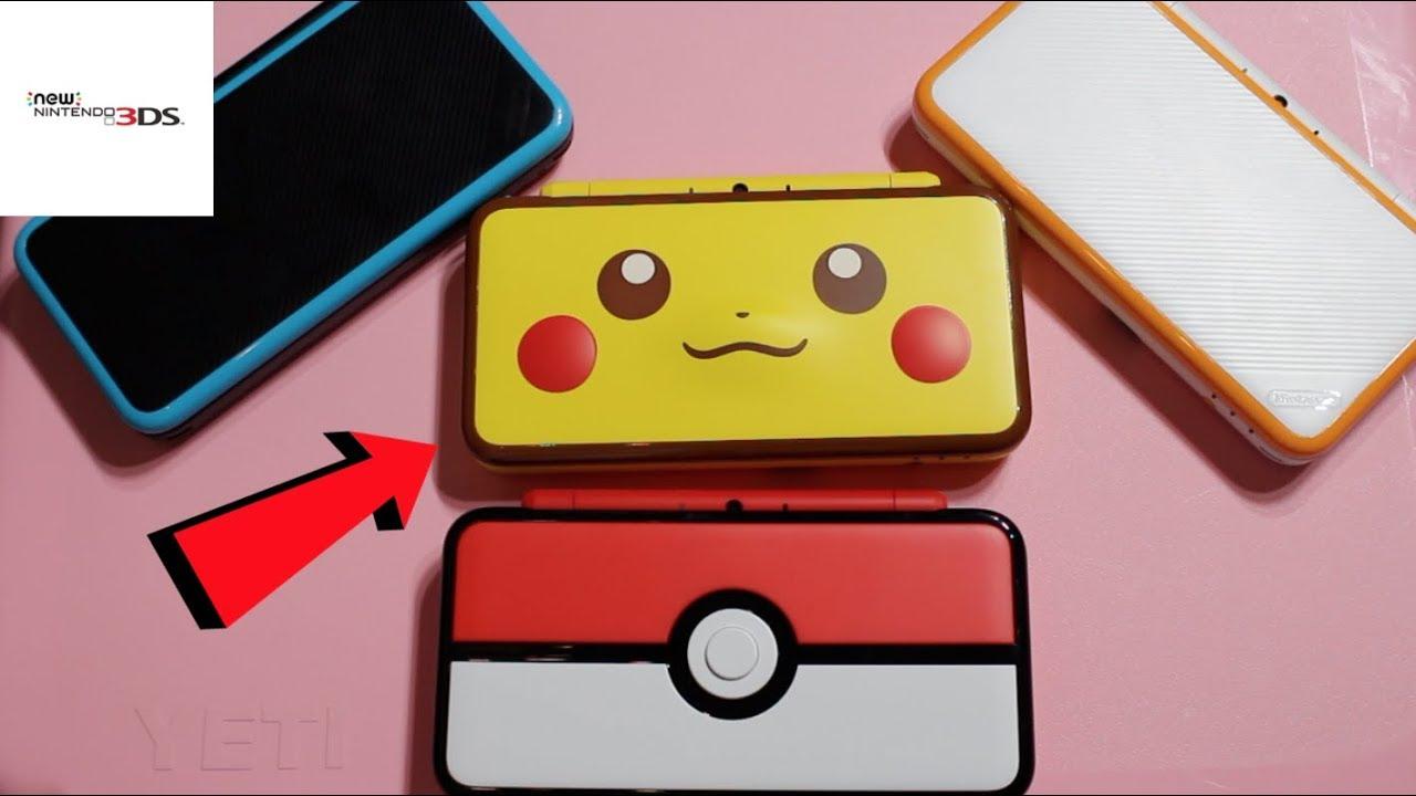 New Pikachu 2ds Xl Youtube