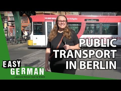 Public Transport In Berlin | Super Easy German (43)