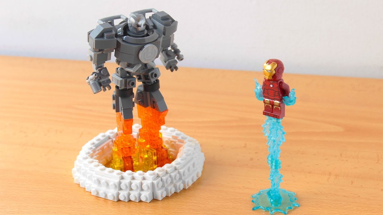 I made a Lego Iron Monger