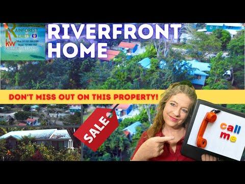 Riverfront Home in Bullet Tree Western Belize
