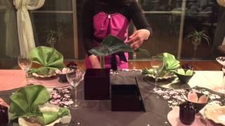 第2回 稲見和子テーブルコーディネート講座 テーブルコーディネート 検索動画 13