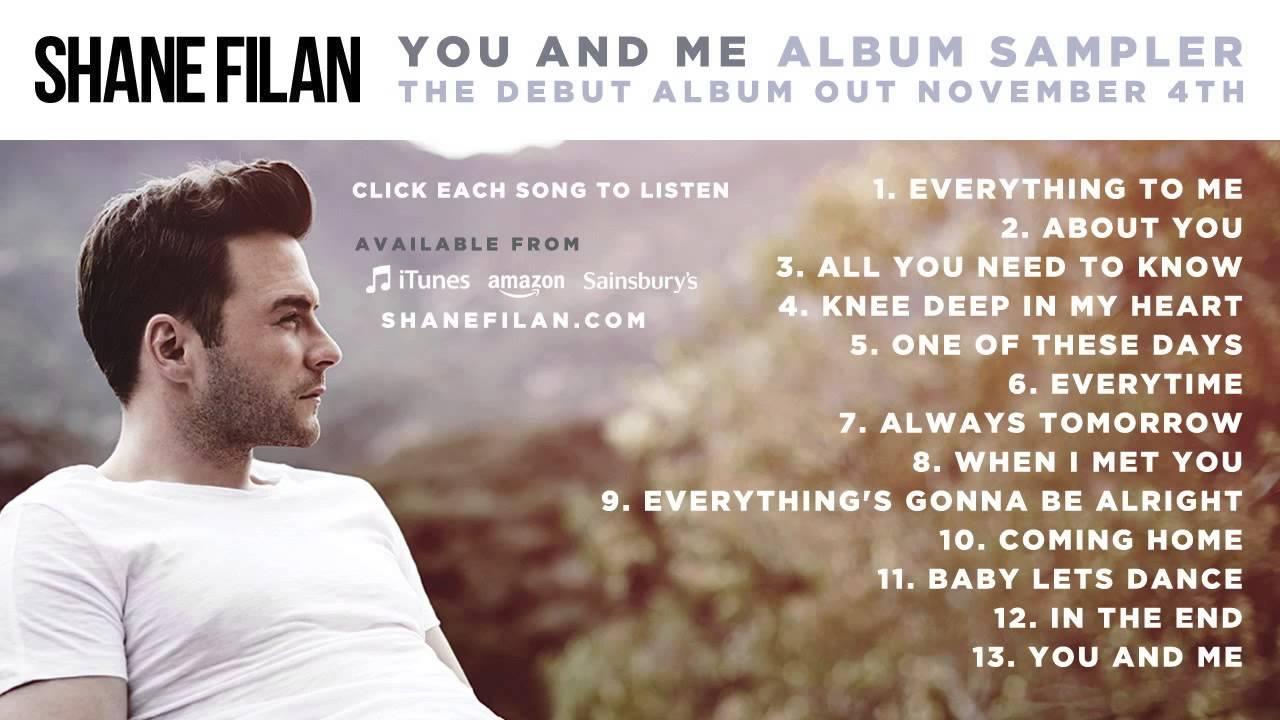 Shane Filan - 'You And Me' Album Sampler