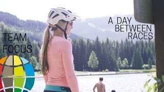 A Day Between Races - In Whistler with Hannah Barnes. EWS Team Focus with Specialized