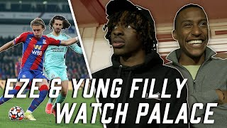 EZE & YUNG FILLY EXPERIENCE MATCH DAY AT SELHURST PARK