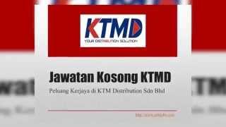 Jawatan Kosong KTMD