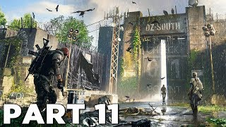 ENTERING THE OUTCASTS COMPOUND in THE DIVISION 2 Walkthrough Gameplay Part 11 (PS4 Pro)