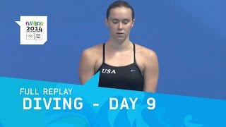 Gambar cover Diving - Women's 3m Springboard | Full Replay | Nanjing 2014 Youth Olympic Games