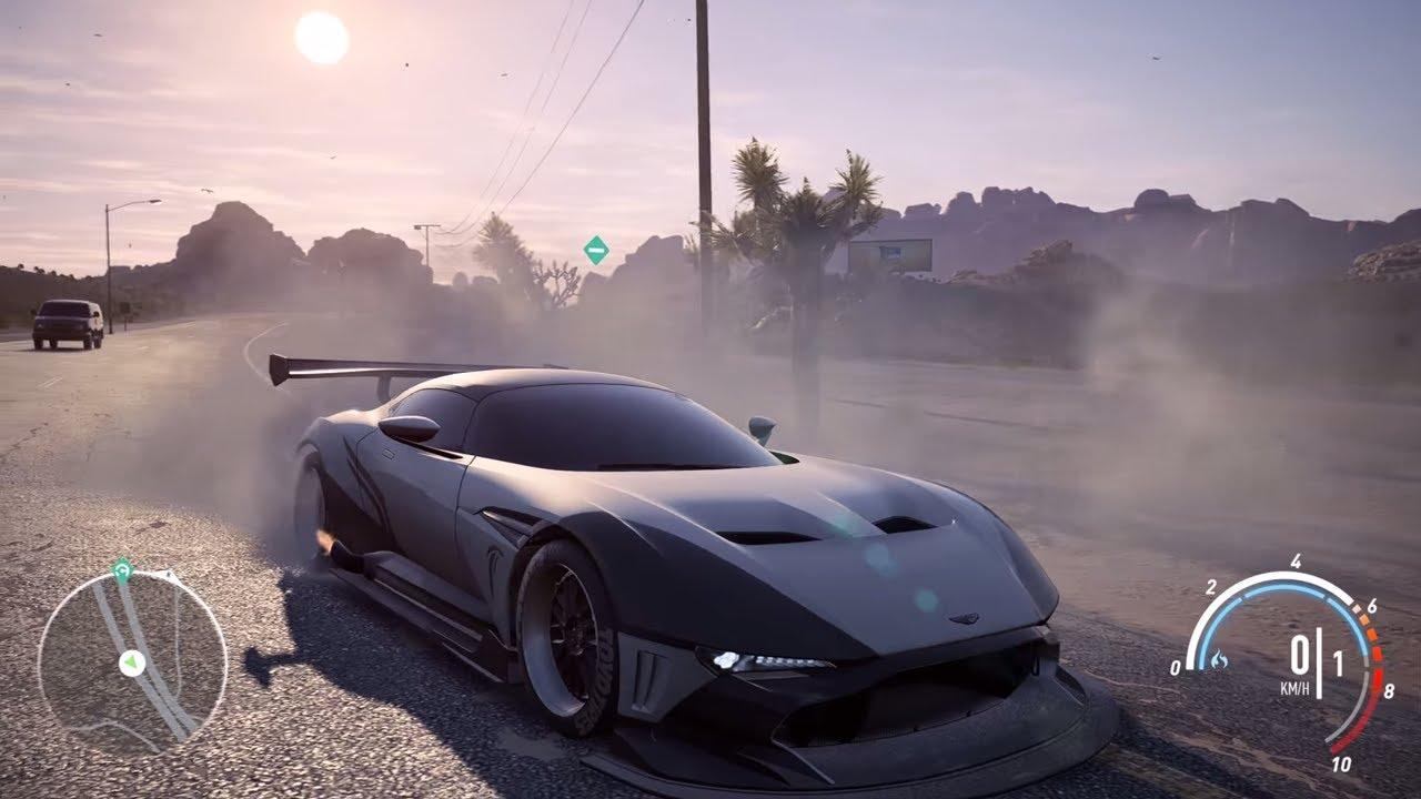 Need For Speed Payback Aston Martin Vulcan Top Speed 363 Km H Youtube