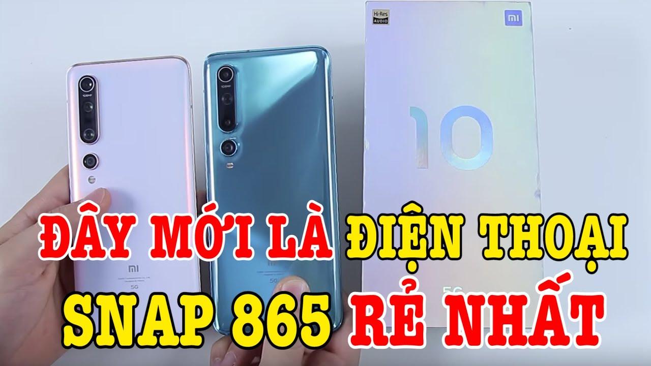 Mở hộp Xiaomi Mi 10 - Điện thoại Snapdragon 865 RẺ NHẤT THẾ GIỚI