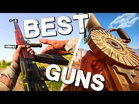 NEW BEST GUNS (TTK 2.0) | Battlefield 1 North Sea Update