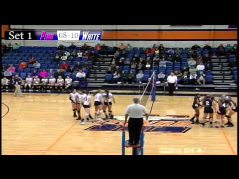 2014 Illinois High School Girls Volleyball All Star Game  Set 1