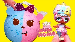LOL Big Surprise with Num Nom Surprises ! Toys and Dolls for Kids | SWTAD