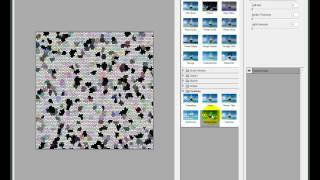 """Уроки Фотошопа - фоновый рисунок """"Водяная бумага"""""""