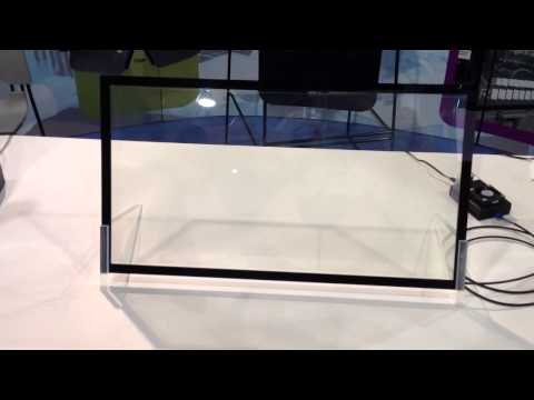 KentOptronics LCD switchable transparent mirror