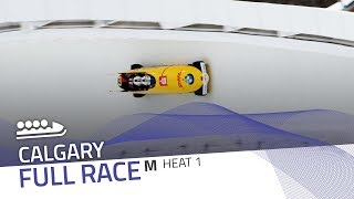 Calgary | BMW IBSF World Cup 2018/2019 - 4-Man Bobsleigh Heat 1 | IBSF Official