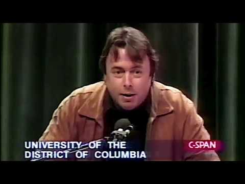 Christopher Hitchens on Noam Chomsky (1995)