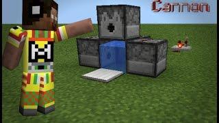 Minecraft PE- cara membuat Rapid Cannon