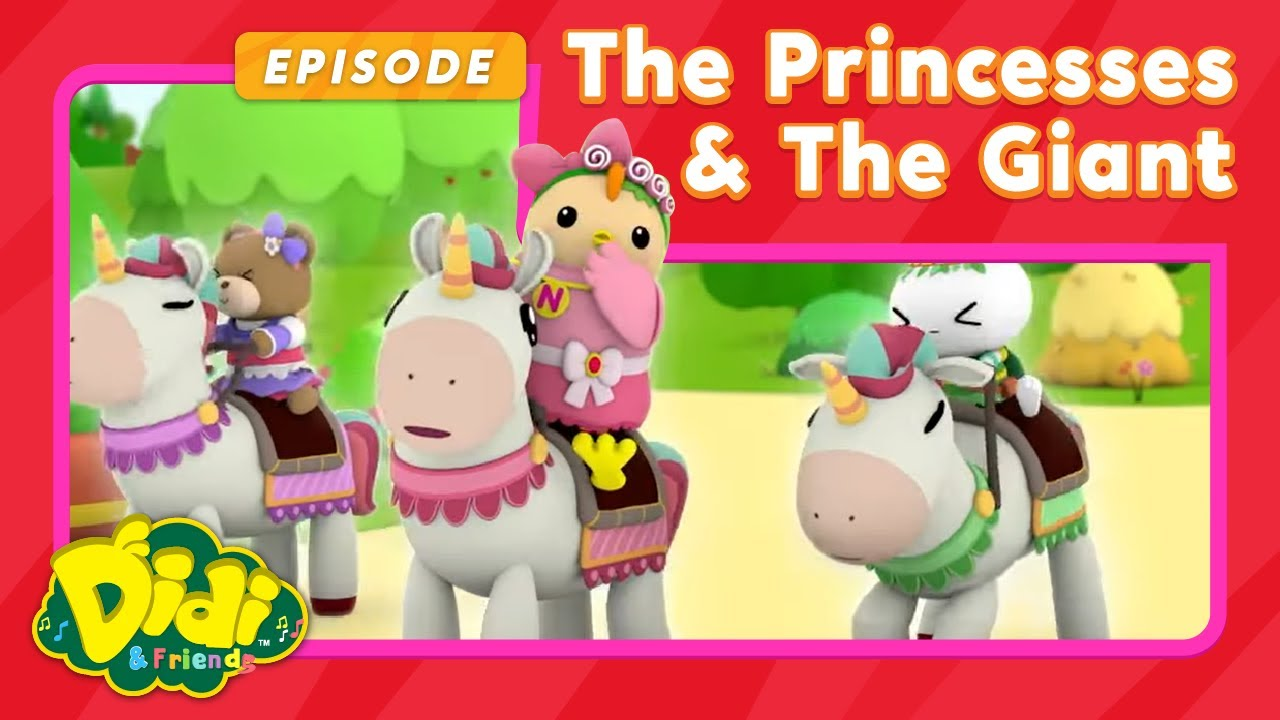 Nursery Rhymes For Kids | The Princesses & The Giant | Didi & Friends in English