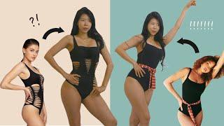 해외쇼핑몰에서 주문한 수영복이…⁉ (단기 다이어트 일주…