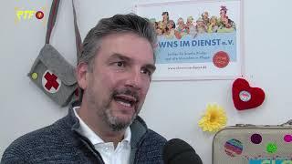 """Aktionstag von """"Clowns im Dienst"""" in der Stadtbibliothek Tübingen"""