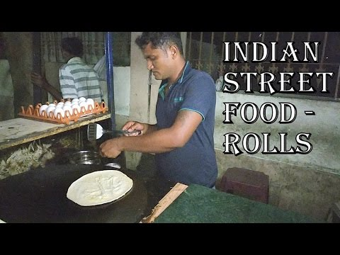 Rolls | Indian Street Food | Paneer Mayonnaise Roll | Chicken Double Egg Roll |