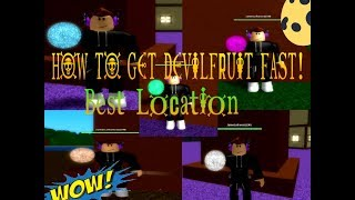 HOW TO GET DEVIL FRUIT FAST! | Best Location | One Piece Pirates Wrath | ROBLOX | 2019