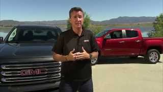 James Bell of General Motors about the 2015 GMC Canyon | AutoMotoTV