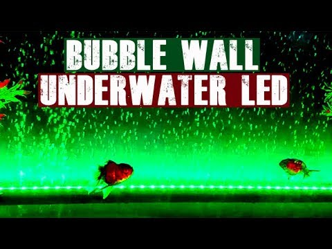Setting Up Underwater Aquarium Lights (LED Bubble Wall)