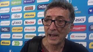 15-09-2018: #barivolley2018 -  Le voci della Tunisia nel post Serbia-Tunisia