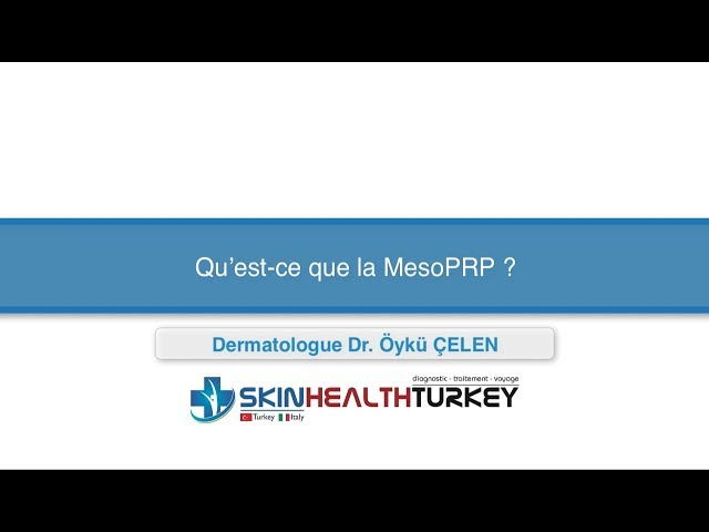 Greffe de cheveux Turquie – Qu'est-ce que la MesoPRP? – Dr. Öykü Çelen