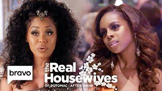 "Monique Samuels Calls Candiace Dillard ""The New Ashley""   RHOP After Show (S4 E13)"