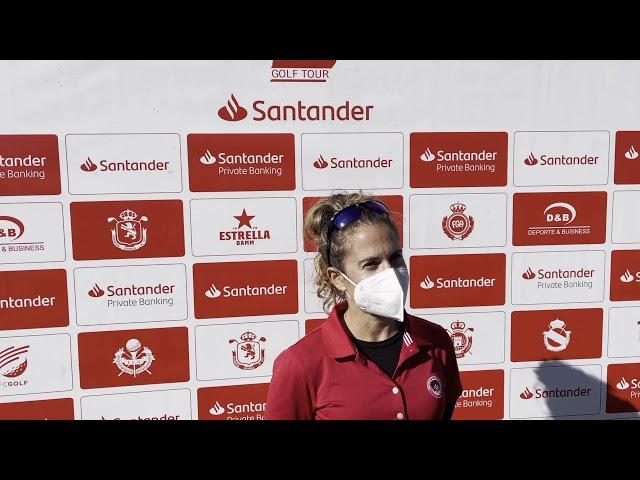 Entrevista Almudena Blasco 1ª Jornada Santander Campeonato de España