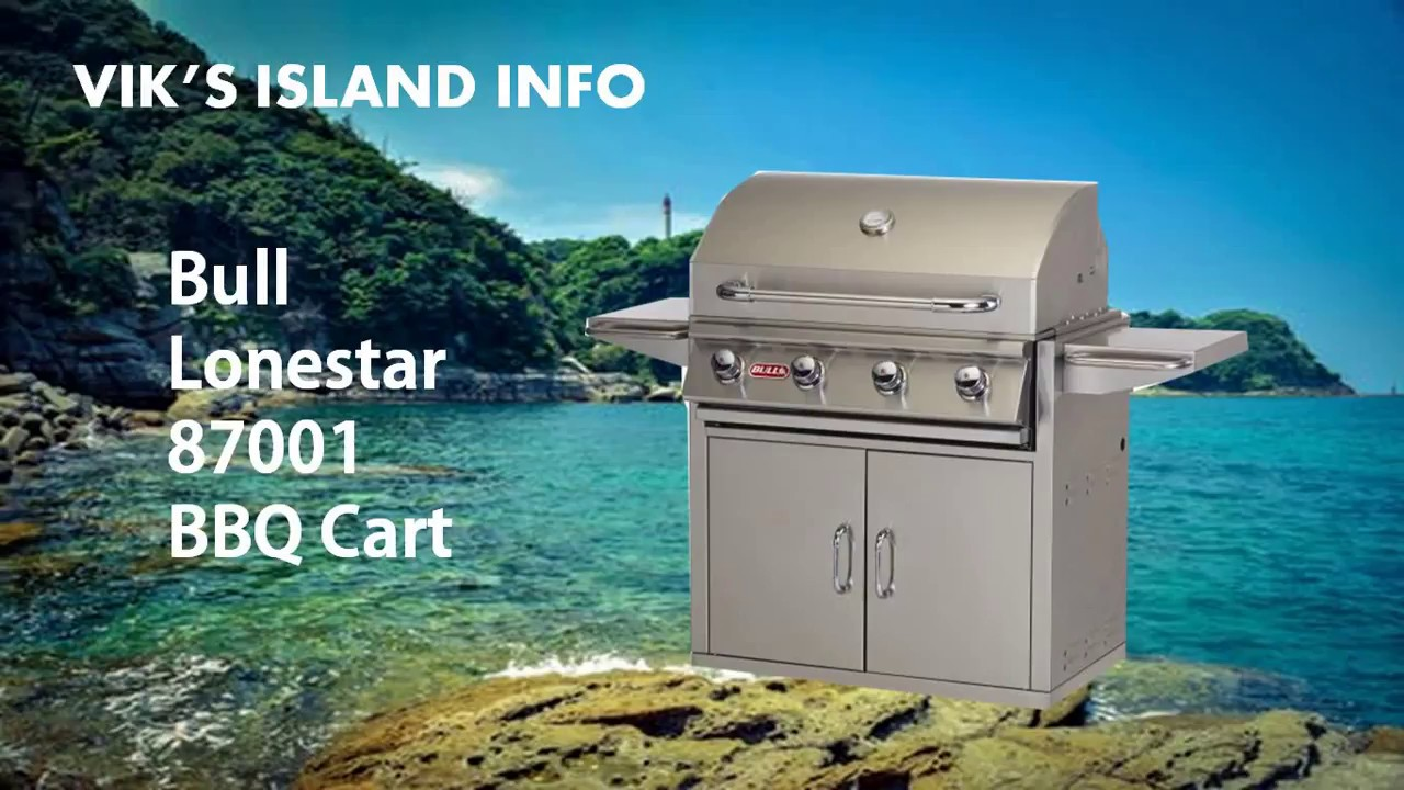 Bull Lonestar 87001 Outdoor Grill Review - YouTube
