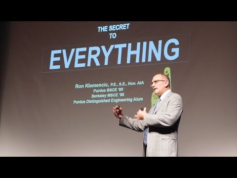 Ron Klemencic — The Secret to Everything