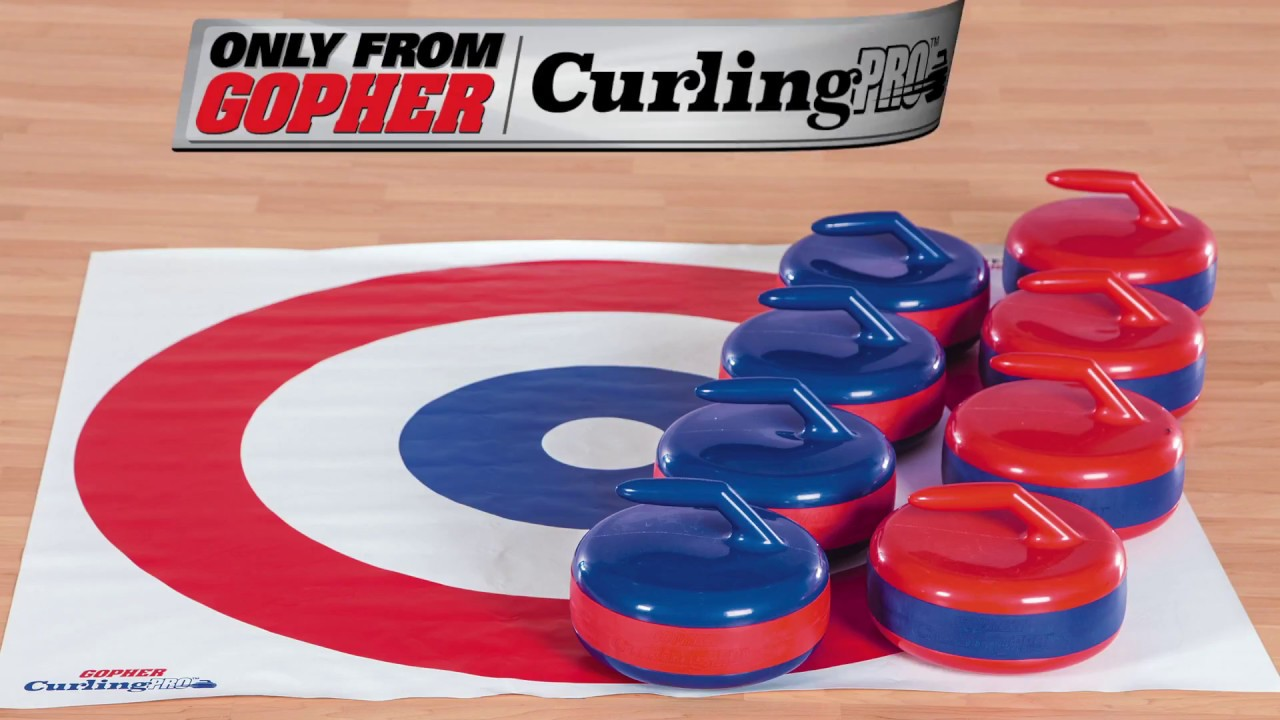 Introductory Curling Game Requires No Ice Youtube