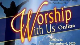 Sunday 9-6-2020  Online Live Service