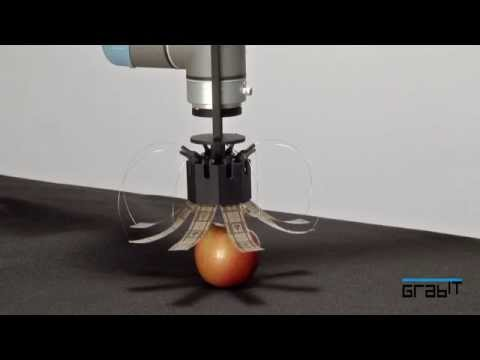 These robots use static electricity to move boxes, fruits, and iPads