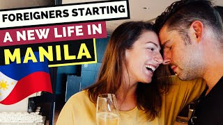 Foreigners move to manila