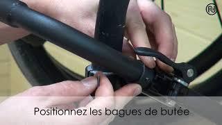 Fauteuil à cadre rigide type K4 clamps inclinés