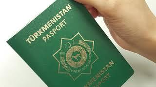 Stambulda täze türkmen pasportunyň berilýändigi barada bildiriş ýaýradyldy